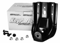 Spring Shackle Kits - Chevy - Key Parts - 88-98 Chevy/GMC CK 1500, 2500, 3500 4WD Truck Rear Leaf Spring Hanger Kit