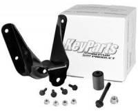 Spring Shackle Kits - Ford - Key Parts - 92-96 Ford F-150 2WD Truck Front Rear Leaf Spring Hanger Kit