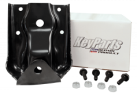 Spring Shackle Kits - Chevy - Key Parts - 07-13 Chevy Silverado/GMC Sierra 1500 Truck Rear Leaf Spring Hanger Kit