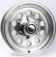 Trailer Tires & Wheels - 15 in. Trailer Wheels  - 15 in. 6-Lug Mod Aluminum Trailer Wheel