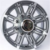 Trailer Tires & Wheels - 16 in. Trailer Wheels - 16 in. 8 Lug T06 Gray Aluminum Trailer Wheel