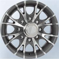 Trailer Tires & Wheels - 16 in. Trailer Wheels - 16 in. 8 Lug T07 Gray Aluminum Trailer Wheel