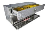 Unique Brute Commercial Class Toolboxes - Under Body - Unique - Unique Brute 48 in. x20 in. UnderBody w/ Top Drawer