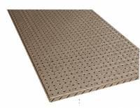 K&W Standard Toolboxes - Trailer Accessories - K&W - K&W Diamond Tread Aluminum Peg Board Trailer Garage