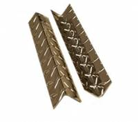 K&W Standard Toolboxes - Trailer Accessories - K&W - K&W Diamond Tread Aluminum Inside Corner Trim Trailer Garage