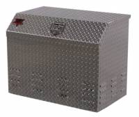 K&W HD Professional Series Toolboxes - Generator Box - K&W - K&W HD Professional Series 33 in. L x 20 in. W x 26 in. H Diamond Tread Aluminum Generator Box