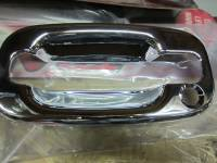 Putco - 02-06 Cadillac Excalade/EXT/ESV Putco chrome door handles (outer ring only)(Driver side keyhole only)