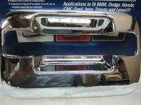 Chrome Door Handle Covers - Ford Chrome Door Handle Covers - Putco - 04-08  Ford F-150 4 door Putco chrome door handle covers (w/o keypad except Heritage)(W/O passenger key hole)