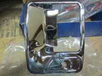 Chrome Door Handle Covers - Ford Chrome Door Handle Covers - Putco - 99-04 Ford F-250/F-350 Super Duty 2 door Putco chrome door handle and tailgate handle covers