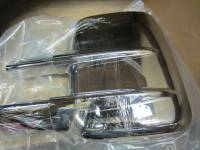 Putco - 08-15 Ford F-250/F-350 Super Duty Putco chrome door mirror cover (w/o turn signal)