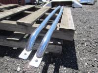 Tubular Bed Rails - Ford Tubular Bed Rails - 08-14 Ford F-250/F-350 Super Duty Chrome Tubular Bed Rails