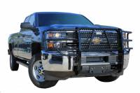 Grille Guards - Chevy/GMC Grille Guards - 07-10 Chevy Silverado 2500/3500 HD Ranch Hand Black Grille Guard