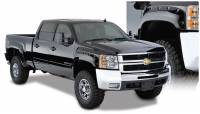 Fender Flares - Chevy/GMC - Bushwacker - 07-13 Chevy Silverado 1500 6.5' Bed Bushwacker Pocket-style Fender Flares