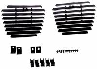 Grille Inserts - Chevy/GMC - Carriage Works - 07-13 Chevy Tahoe/Suburban/Avalanche Carriage Works Bumper Bolt Over Grille Insert