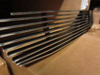 Grille Inserts - Chevy/GMC - Luverne - 03-05 Chevy Silverado 1500/Avalanche w/o Cladding Luverne Billet Aluminum Grille Insert