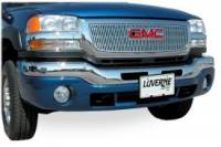 Grille Inserts - Chevy/GMC - Luverne - 05-06 Chevy Silverado 2500/3500 HD 06 Silv 1500 Luverne SST Grille Insert
