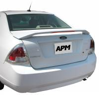 Spoilers - Ford - APM - 06-09 Ford Fusion 2-post custom APM Plastic Spoiler w/light