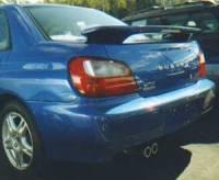 Spoilers - Imports - APM - 02-07 Subaru Impreza WRX factory APM Plastic Spoiler w/o light