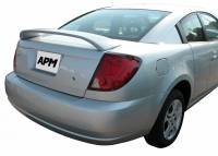 APM - 03-07 Saturn Ion Quad-Coupe mid-wing custom APM Plastic Spoiler w/o light