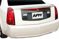 APM - 03-07 Cadillac CTS 2-post custom APM Plastic Spoiler w/o light