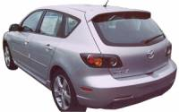 Spoilers - Imports - APM - 04-09 Mazda 3 sport H/B F/S APM Plastic Spoiler w/o light