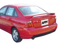 APM - 00-07 Ford Focus 4 dr. F/S APM Plastic Spoiler w/o light