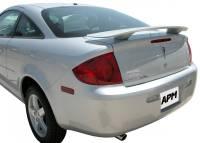 Spoilers - Pontiac - APM - 05-10 Pontiac G6 Coupe 2-post custom APM Plastic Spoiler w/o light