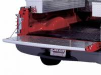 Diamond Tailgate Caps/Covers - Dodge - DeeZee - 02-04 Dodge Ram Deezee Diamond Plate Aluminum One Brite Tailgate Cover