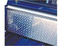 Diamond Tailgate Caps/Covers - Ford - Unique - 83-92 Ford Ranger Unique Diamond Plate Aluminum Full Front Cover