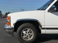 Fender Trim - Chevy/GMC Fender Trim - TFP - 88-98 Chevy/GMC C/K TFP Stainless Steel No-Drill Fender Trim