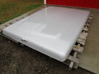 Used Truck Caps & Covers - Dodge Caps and Covers - 02-08 Dodge Ram 1500,2500, 3500 8ft Long Bed Silver ARE Lid