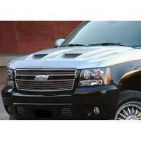 Hoods - Chevy/GMC Hoods - 07-13 Chevy Suburban/Tahoe/Avalanche Keystone Good Hood Fiberglass Ram Air Hood