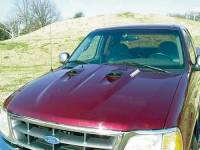 Hoods - Ford Hoods - 97-03 Ford F-150 Reflexxion Domination Series Steel Cobra Style Cowl Induction Hood
