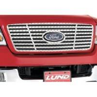 Grille Inserts - Ford - Lund - 99-04 Ford F-250/F-350 Super Duty Lund Diamond Plate Grille Insert
