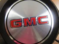 85-94 GMC Safari Van 15 in. Steel Wheel Black OEM Center Caps (Set of 4) - Image 4