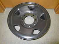 Wheels - Ford Wheels - 06-10 Ford F-250, F-350 SuperDuty 17 in.  x 7 1/2 in.  8 Lug Black Spare Rim Wheel