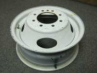 "Takeoff Wheels & Tires - Wheels - 08-15 Ford E-350 E-450 Econoline Cube Van 16"" 8 Lug White Steel Dually Wheel"