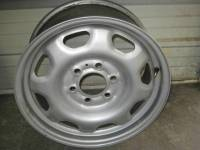 Wheels - Ford Wheels - 10-13 Ford Expedition/10-13 F-150 OEM 17 in. 6 Lug Silver Painted Steel Rim Wheel