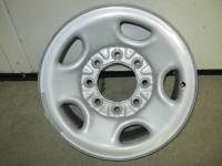Wheels - Chevy/GMC Wheels - 03-16 Chevy Express Van 01-10 Silverado 2500 Truck 8 Lug 16 in. OE Gray Steel Wheel