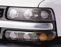 Lighting - Chevy/GMC Lights - 99-06 GMC Sierra GT Styling Carbon Fiber Pro-Beam Headlight Cover