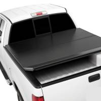 Tonneau Covers  - Chevy Tonneau Covers - 14-16 Chevy Silverado/GMC Sierra 5.7ft Short Bed Extang Solid Fold Tonneau Cover