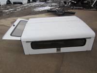 93-11 Ford Ranger 6ft Short Bed White Aluminum Gem Top Jobsite Work Cap - Image 11