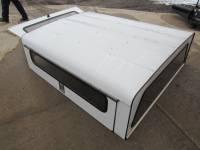 93-11 Ford Ranger 6ft Short Bed White Aluminum Gem Top Jobsite Work Cap - Image 14