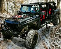 Cowl Induction Hoods - Jeep Wrangler Cowl Induction Hoods - Owens 07-17 Jeep Wrangler Venom Heat Extraction Hood