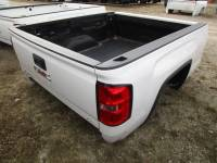 Chevrolet & GMC Truck Beds - 14-15 Chevy Silverado & GMC Sierra Truck Beds - 14-15 GMC Sierra White 6.5ft Short Truck Bed