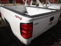 14-16 Chevy Silverado & GMC Sierra Truck Beds - 6.5' Short Bed - New 14-16 Chevy Silverado White 6.5ft Short Truck Bed