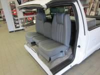 DAP - 73-87 Chevy/GMC Full Size Truck V-200 Gray Vinyl Triway Seat - Image 7
