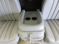 DAP - 80-98 Ford F-250/F-350 Ext Cab with Original OEM Bucket Seats V-200 Gray Vinyl Triway Seat - Image 3