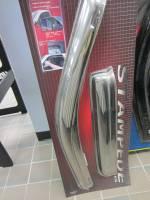 04-13 Chevy Colorado/GMC Canyon Crew Cab Stampede Tape-Onz 4-Piece Chrome Side Window Deflector - Image 2