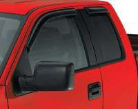 Rain Guards - Chevy/GMC Rain Guards - 07-14 Chevy Silverado/GMC Sierra Crew Cab/Suburban/Avalanche Trail FX 4-Piece Tape-On Smoke Vent Visors